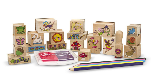 Melissa & Doug Fairy Stamps for Kids