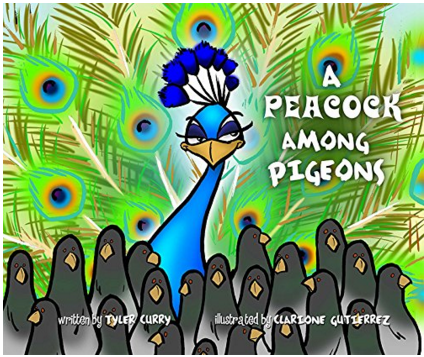 A Peacock Among Pigeons Children's Book