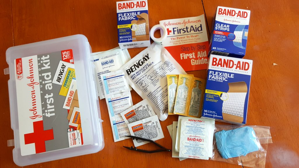 First Aid Kit to Geocache Container