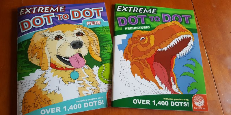 MUST HAVE MindWare Extreme Dot-to-Dot Books