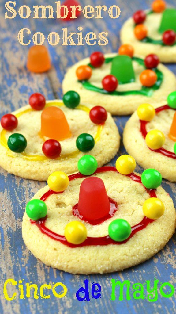 Cinco de Mayo Celebration Sombrero Cookies
