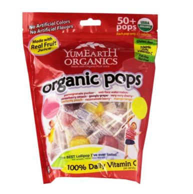 Yummy Earth Natural Dye Free Lollipops