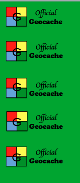 FREE Geocache Printable Logs & Signs + Recycling Container Ideas