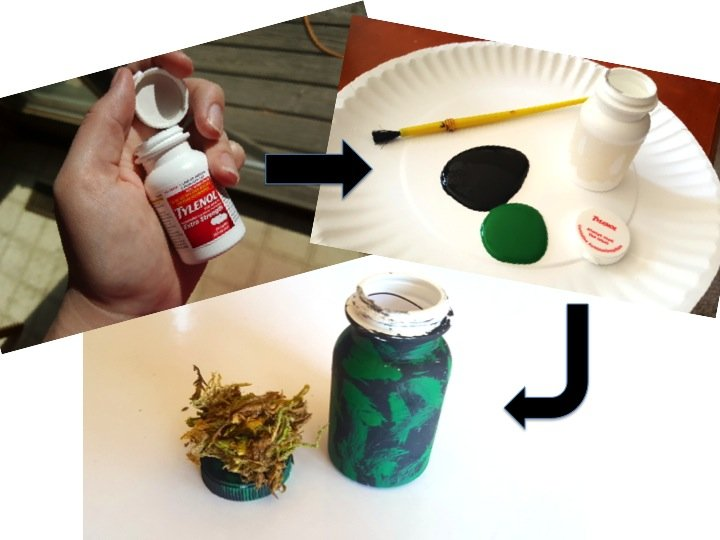 How to Geocache Recycled Container - FREE Geocache Printable Logs & Signs + Recycling Container Ideas