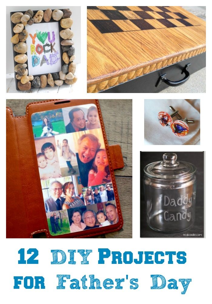 12 DIY Projects for Father's Day