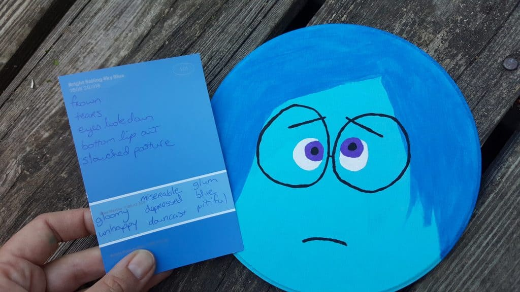 Disney Pixar Inside Out Teaching Emotions Craft & Activity - Kids with Social Skills & Autism