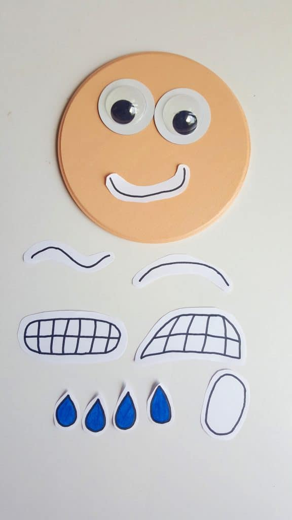 Interactive Printable Emotions Face - Autism & Social Skills Tool