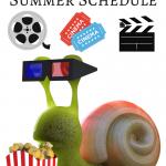 Cinemark & Regal Summer Kid's $1 Movie Schedule for 2017