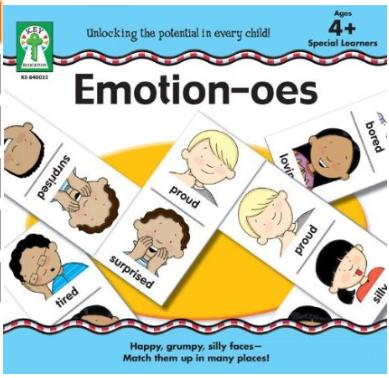 Emotions Dominoes Board Game