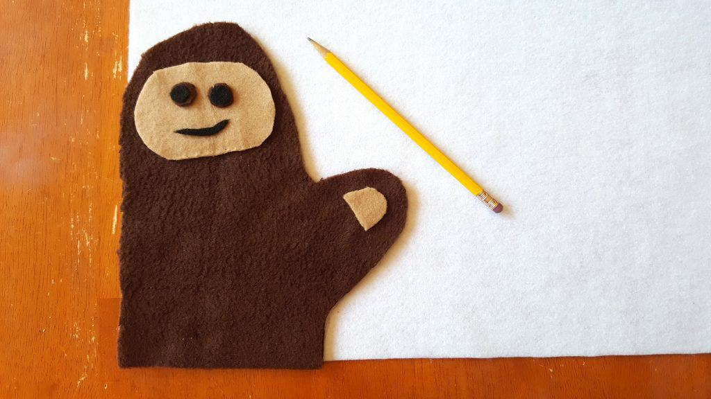 No Sew Cryptozoology Hand Puppet Tutorial