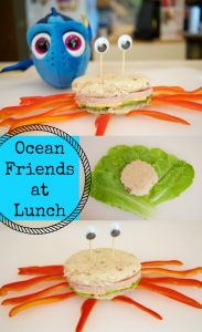 Ocean Friends at Lunch