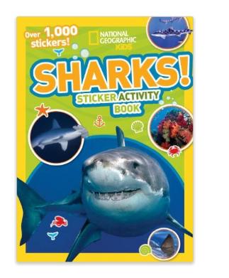 National Geographic Kids Shark Sticker Book