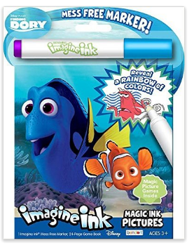 Disney Pixar Finding Dory Nemo Invisible Ink Pad