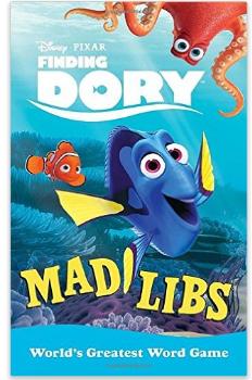 Disney Pixar Finding Dory Nemo Mad Libs Book