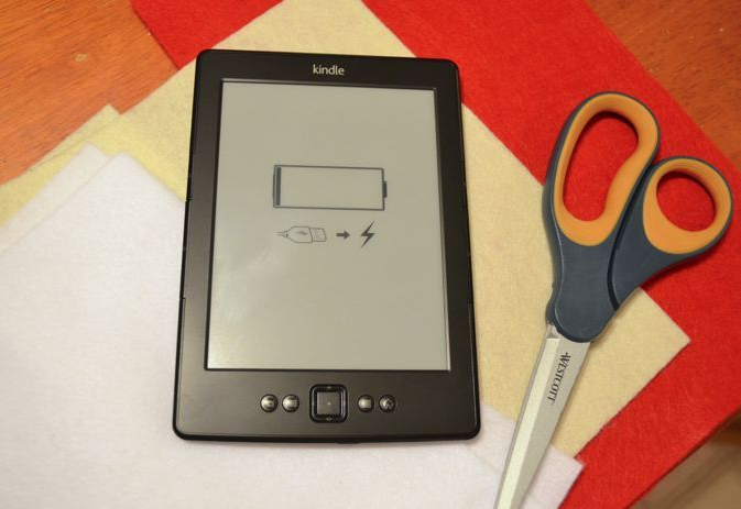 NO SEW Etch a Sketch Kindle E-reader Device Cover Tutorial