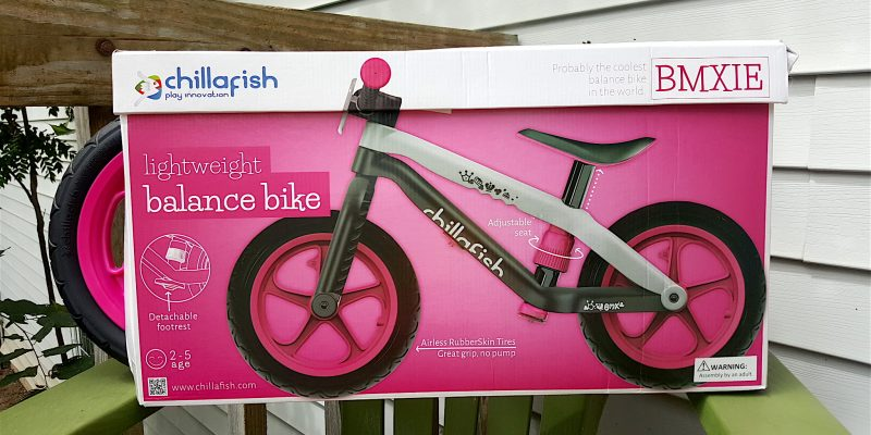 BMXie Balance Bike by Chillafish GIVEAWAY