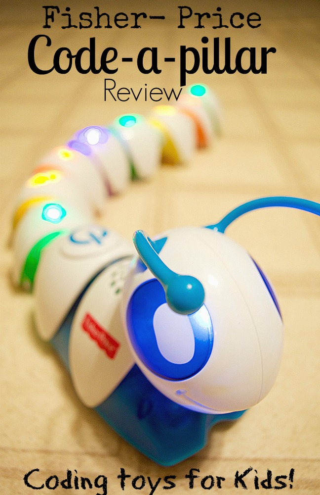 Best Coding Toys Reviewed : Coding toys for kids code a pillar by fisher price review