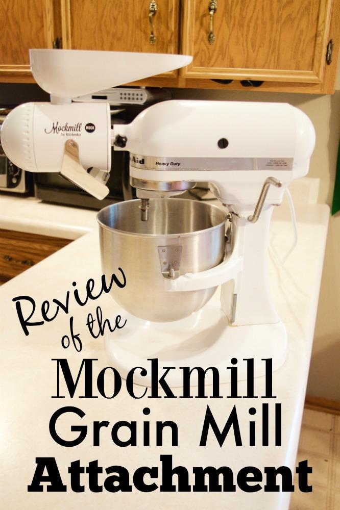 Mockmill grain mill attachment for kitchenaid stand mixers - Grain mill attachment for kitchenaid mixer ...