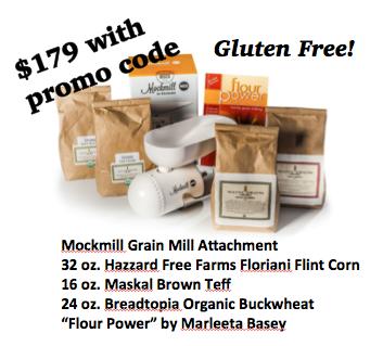 Mockmill Grain Mill Attachment Gluten Free DISCOUNT Promo