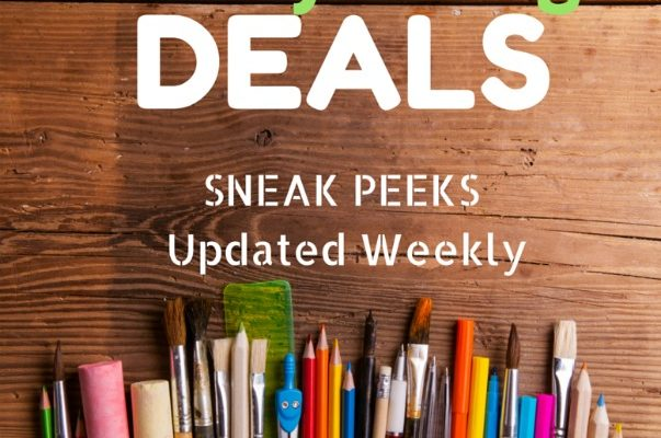 Office Depot Back To School Ad Week of 7/31-8/6
