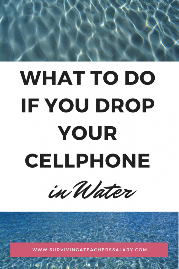 What To Do When Your Phone Falls In Water 45