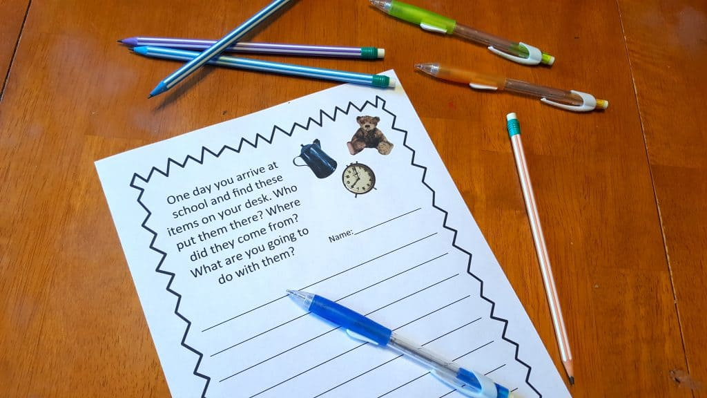 Creative Imaginative Back to School Writing Prompt Printables #BICFightForYourWrite
