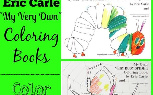 Eric Carle Coloring Books – Color your FAVORITE Children's Story!