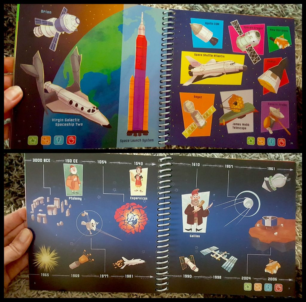 LeapStart Space Book