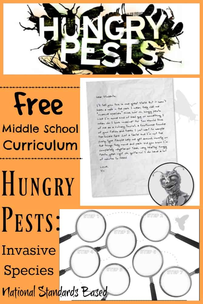 National Standards Based Hungry Pests Middle School Curriculum Invasive Species