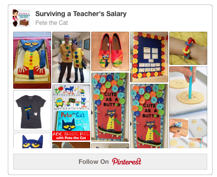 Pete the Cat Pinterest Board