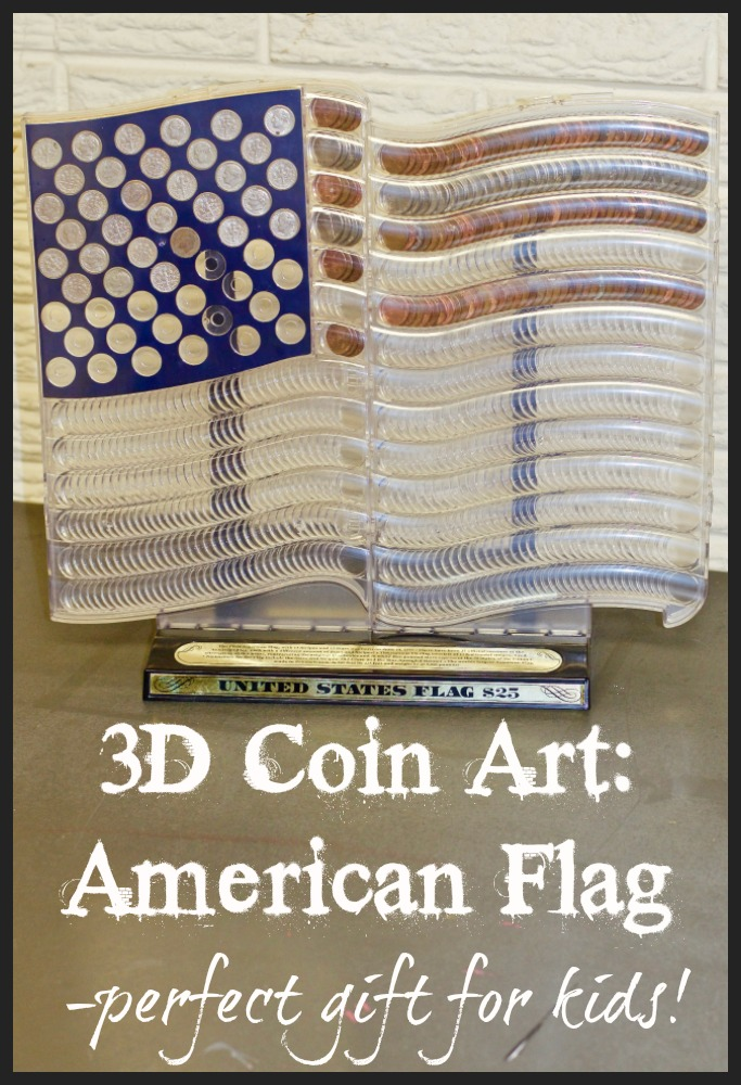 3D Coin Art: American Flag Review