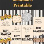 Free Printable Halloween Joke Bookmarks