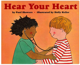 Hear your Heart science book for kids