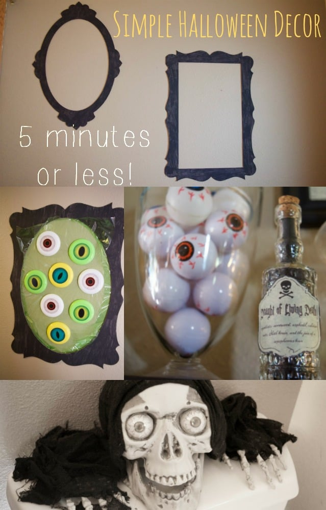 Simple Creative Tips for a Spooky Halloween in 5 Minutes or Less