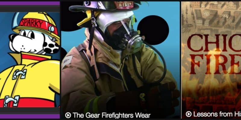 "Firefighter Fun Facts & ""F"" is for Fire Safety"