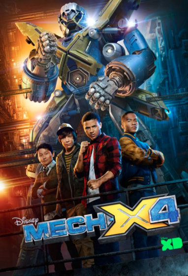 Disney Channel MECH X-4 sci-fi