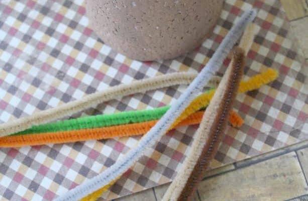 Thanksgiving Turkey Cone Craft for Kids