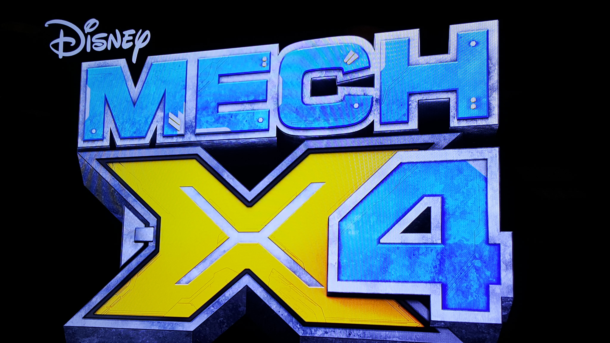Disney Channel Original MECH-X4 TV Series