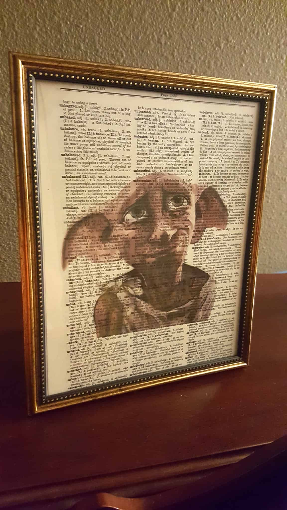 Harry Potter Dobby wall art