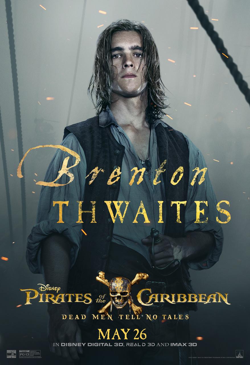 Brenton Thwaites Pirates of the Caribbean Poster