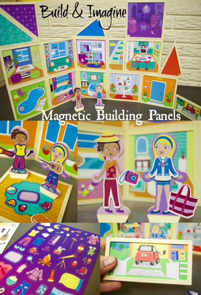 Build and Imagine Magnetic Building Panels