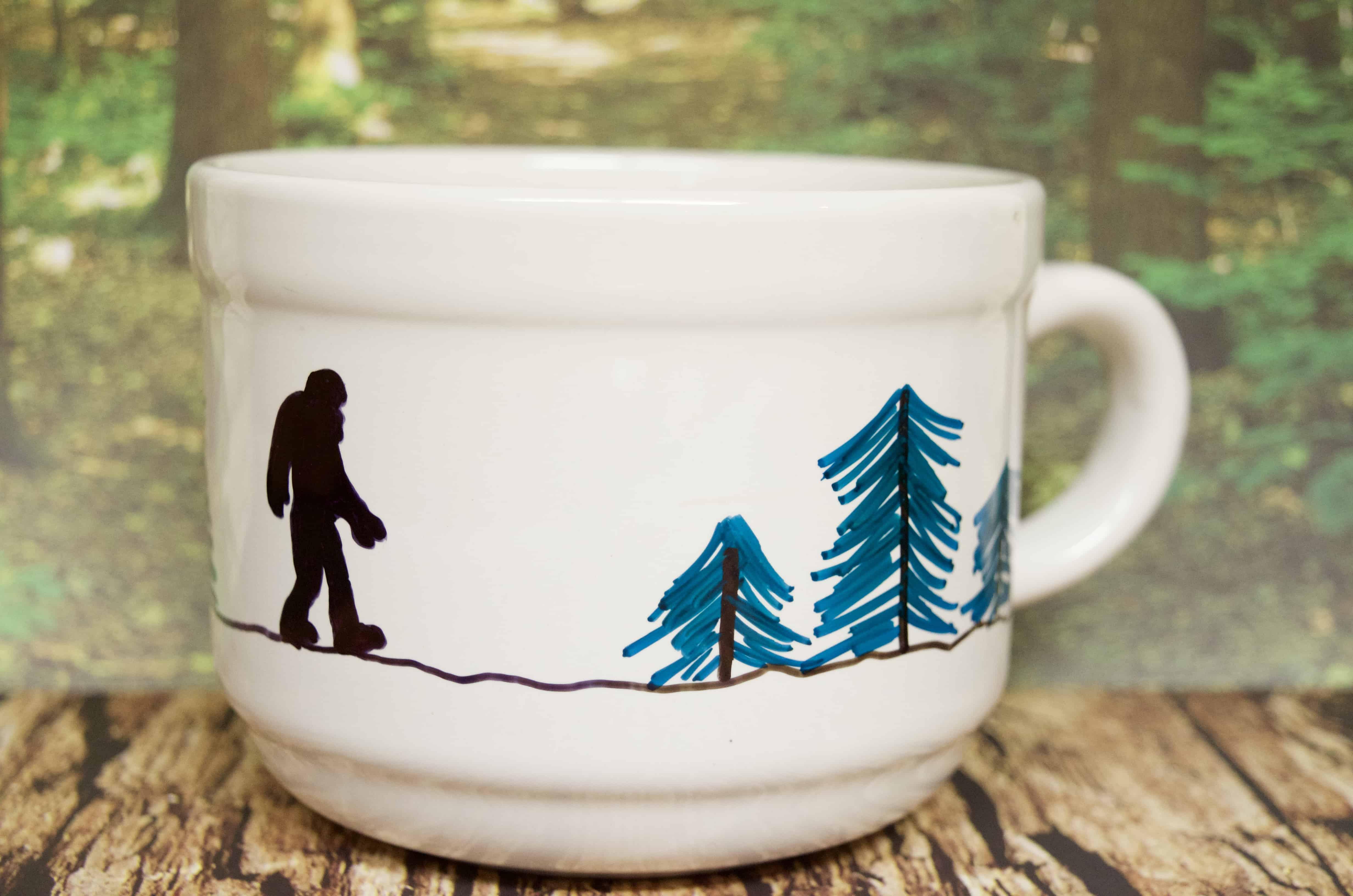 DIY Bigfoot Edgar Allen Poe Gift Set