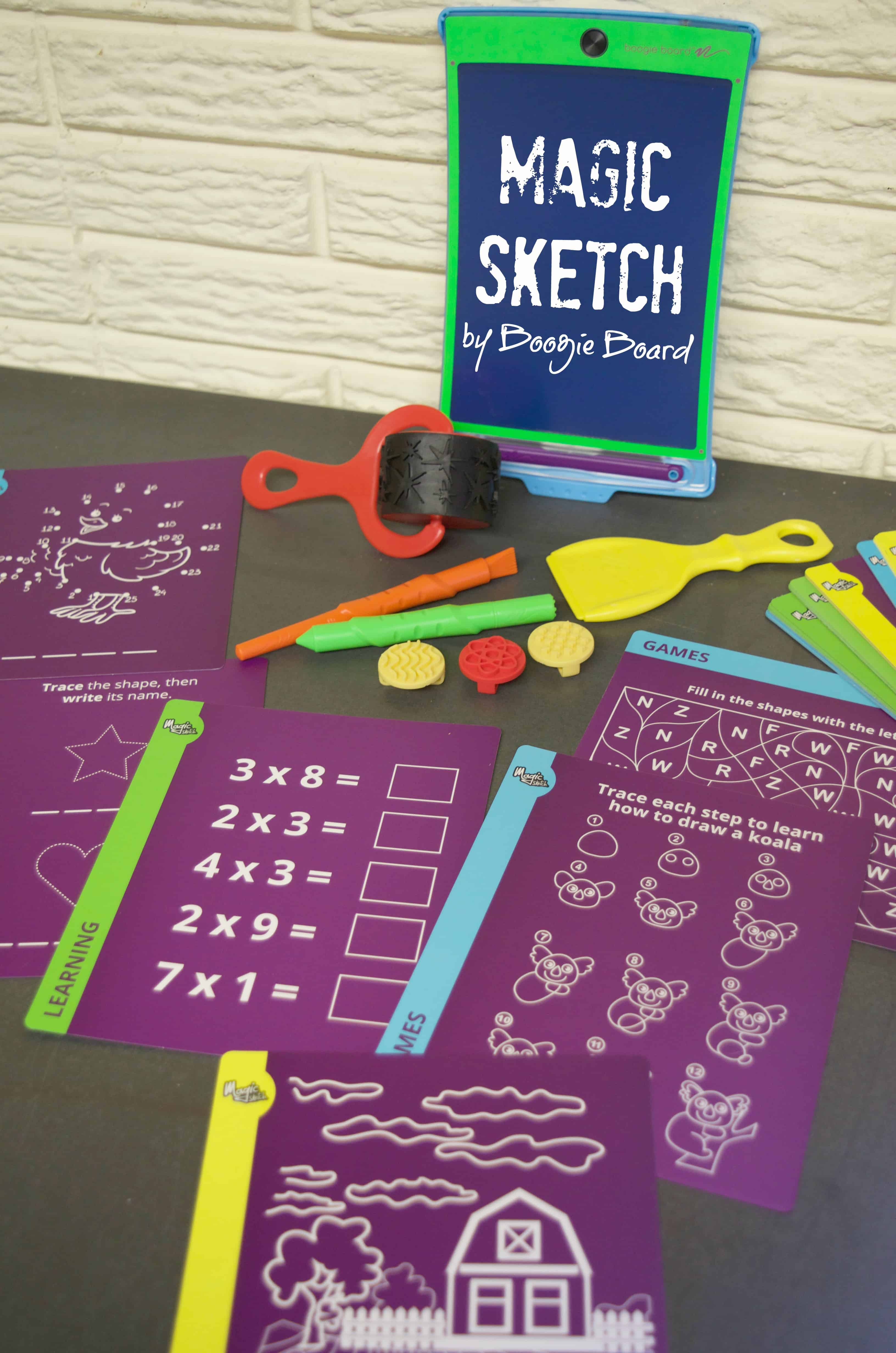 Magic Sketch by Boogie Board Art Toy Review