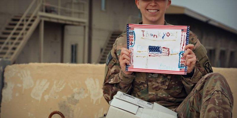 Send a Thank You Letter Printable with Pilot Pen & Operation Gratitude