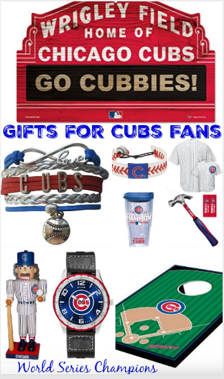 Chicago Cubs Fan Gift Ideas World Series Champions