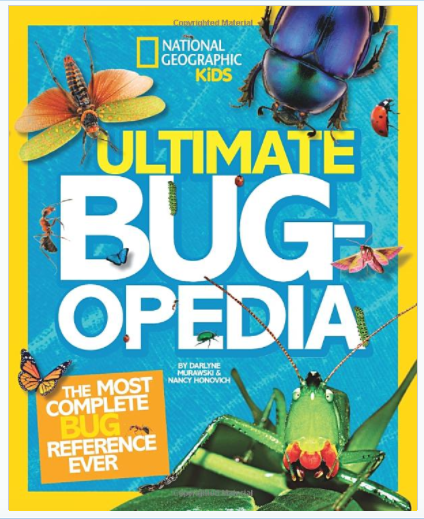 National Geographic Kids Ultimate Bugopedia Book