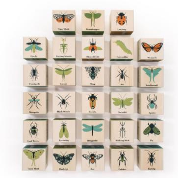 Uncle Goose wooden Bug Blocks