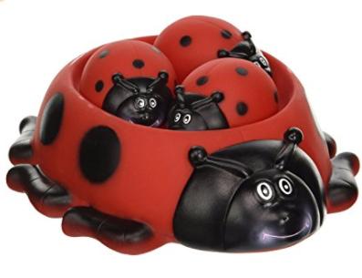 Ladybug Bath Toys for kids