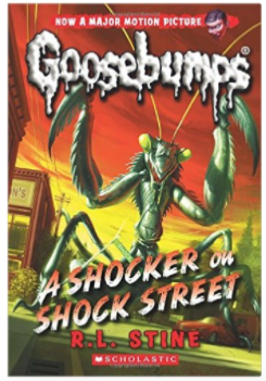 R.L. Stine's Goosebumps A Shock on Shocker Street