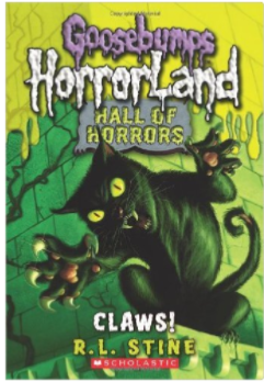 R.L. Stine's Goosebumps HorrorLand Claws book